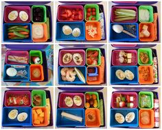 Lunch Recipes: Bento Box Lunches featuring Hardboiled Eggs - Happy Easter! Protein Packed Snacks, Healthy Snacks, Healthy Life, Healthy Living, Lunch Recipes, Diet Recipes, Healthy Recipes, Bento Box Lunch, Box Lunches