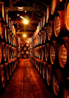 .   Port Wine Cellars - Vila Nova de Gaia, #Porto   #Portugal