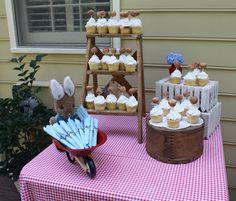 Peter Rabbit Baby Shower: Spiral Macaroni Blog