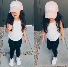 Cute baby girl clothes outfits ideas 88 The Effective Pictures We Offer You About toddler fashion ou Outfits Niños, Cute Baby Girl Outfits, Toddler Girl Outfits, Toddler Fashion, Fashion Kids, Cute Girls, Fashion Black, Trendy Fashion, Summer Outfits