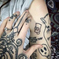 Anastasia Tasou tattooed by Hannah Pixie