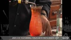 How to make a Hurricane Cocktail - Drink recipes from Bartending Bootcamp, via YouTube.
