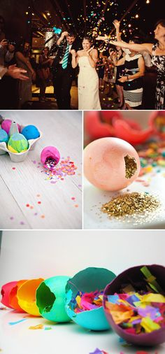 cascarones confetti eggs mexican tradition Cascarones for Destination Weddings