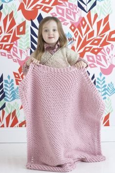 Knitted Baby Blanket (Free Pattern for Beginners)