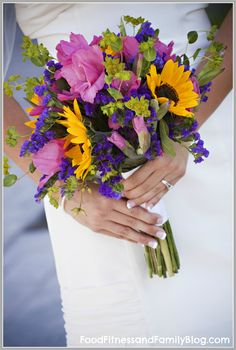 sunflower, wild flower bouquets - Google Search