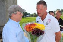 Visit USA Ambassador Timothy Broas to our #Calla fields. @TimBroas