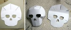 skull mask templates