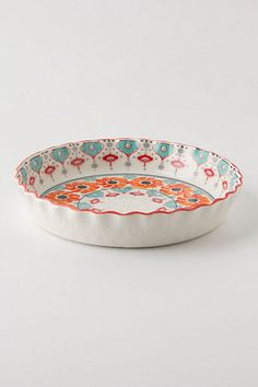 I do not care if it sounds Martha Stewart-y I want to bake already. Tired of trudging along the snow for my sweet fix.   Poppy Ring Pie Pan #anthropologie