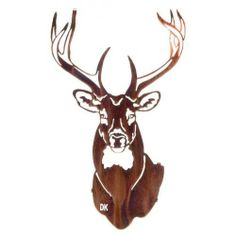 Buck Rustic Metal Wall Art   20 Home