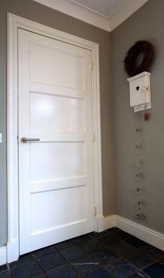 Binnendeur MDF paneeldeur