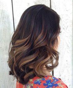 Stunning Ombre Marron Caramel Hair Ideas for 2017