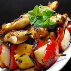 Absolutely delicious and tryly healthy kabobs recipe - YUM!