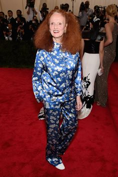 Pin for Later: Seht alle Stars bei der Met Gala Grace Coddington in Michael Kors