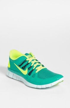 Nike 'Free 5.0' Running Shoe (Women) available at #Nordstrom  they are practially UO colors AND a running shoe AND nike?!!!