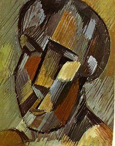 Head - Pablo Picasso 1908 ۩۞۩۞۩۞۩۞۩۞۩۞۩۞۩۞۩ Gaby Féerie créateur de bijoux à thèmes en modèle unique ; sa.boutique.➜ http://www.alittlemarket.com/boutique/gaby_feerie-132444.html ۩۞۩۞۩۞۩۞۩۞۩۞۩۞۩۞۩