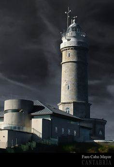 #Lighthouse - #Faro de Cabo Mayor, Santander, Cantabria, #Spain http://dennisharper.lnf.com/