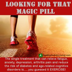The single treatment that can relieve fatigue, anxiety, depression and arthritis pain and reduce the risk of diabetes and age-related cognitive disorders is...