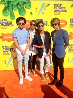 """The Fooo Conspiracy on Twitter: """"Live from @NickelodeonTV's #KCA! http://t.co/pw4cEunFFj"""""""