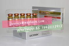 Injectable  phosphatidylcholine Lecithin for Fat Melting Treatment 5 vialsx5ml ;   Fat dissolving Injectable phosphatidylcholine 250mg;  sodium deoxycholate 237.5mg;    Shelf life: 36 months