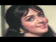 Kitne Din Aankhen Tarsenge, Hema Malini, Lata Mangeshkar, Naya Zamana Song - YouTube