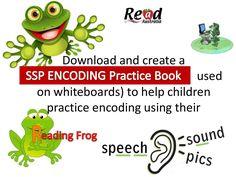 SSP encoding (spelling) practice for whiteboards by Read Australia (Wiring Brains Education) via slideshare