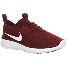 Nike Juvenate ($110) ❤ liked on Polyvore featuring shoes, sneakers, nike, team red m, trainers, unisex sports, honey comb, red shoes, nike sneakers and lightweight sneakers