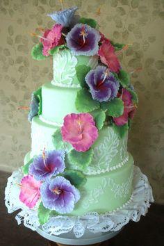 HawaiianWeddingCake Hawaiian Wedding Cake pictures photos