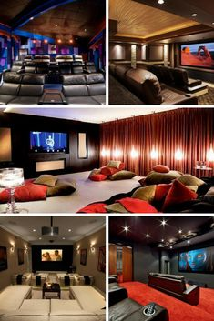 219 Best Home Theater Design Images Home Theatre Home Theatre - Living-room-theaters-decor