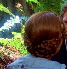 Pic of back of Leia's Endor hair