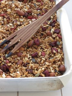 My Favorite Granola - Coconut and Cranberries