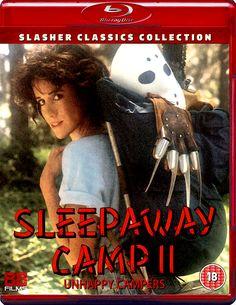 SLEEPAWAY CAMP II: UNHAPPY CAMPERS BLU-RAY 88 FILMS SLASHER CLASSICS COLLECTION SPINE #17