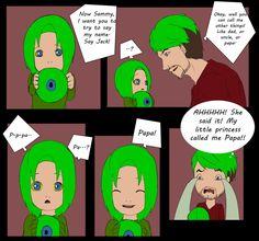Baby Sammy Says Papa by shana340