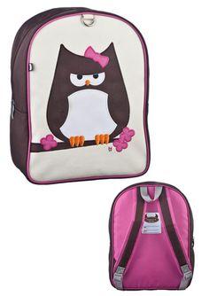 Rygsæk online - Køb søde rygsække med ugle motiv fra Beatrix New York hos Kaspar Maternity