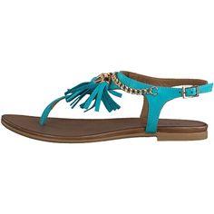 #Stylefruitsopvakantie Deze mooie Turquoise sandalen vind ik leuk om de kleur en de franjes er aan en past mooi in combinatie met de jurk en bikini