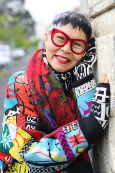Jenny Kee | Advanced Style | Bloglovin'