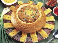 Serve up some spice in a KING'S HAWAIIAN bread bowl!