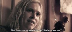 """""""When I'm in charge, people die. Isn't that what you said!?"""" The Cw Shows, Tv Shows, The 100 Cast, It Cast, Goodbye For Now, Bob Morley, Eliza Taylor, Bellarke, The Hundreds"""