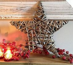 Stars are one of symbols of Christmas and are very hot for holiday décor. There are so many ideas of using them for Christmas! Take different ornaments of Christmas Window Decorations, Modern Christmas Decor, Christmas Centerpieces, Christmas Tree Toppers, Christmas Images, Christmas Signs, Rustic Christmas, Christmas Projects, Tree Decorations