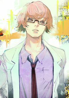 Nishiki Nishio by Ishida-sensei Kaneki, Tokyo Ghoul Manga, Anime Manga, Anime Guys, Anime Art, Otaku Anime, Tokyo Ville, Ayato Kirishima, Joker