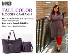 Monroe and Main Dress Review AND $100 Value Tote Giveaway #MMFallFashion!
