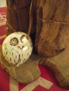 'The Owl' Knob - We think he is a bit of a hoot! ;-)— at Della's Workshop