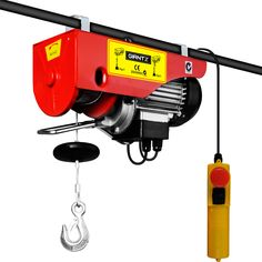 Electric Hoist Winch Lift Equipment 510W 125/250KG | Buy Top Sellers
