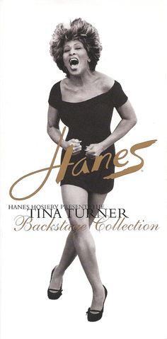 Tina Turer Hanes ad, 1997