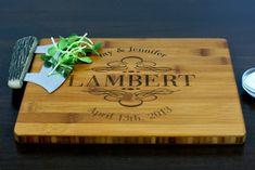 wedding gift ideas personalized cutting board etsy