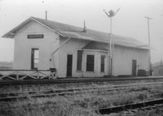 Train station at St. Elmo Alabama - a long time ago