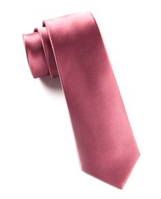 Solid Satin Ties - Dusty Rose | Ties, Bow Ties, and Pocket Squares | The Tie Bar