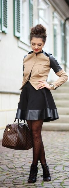 This would be a hot first date outfit! - dots