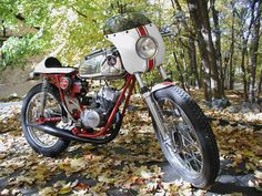 AWESOME 100cc Hodaka Cafe Racer