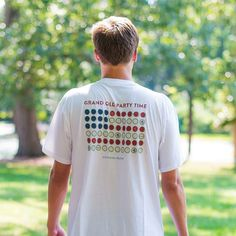 Ain't no party like a grand old party. Next time you party, show America you love her by displaying bottle caps out as her flag. Your friends will thank you. Southern Proper, Preppy Men, Bottle Caps, Preppy Outfits, My Man, Gentleman, Love Her, Nice Dresses, Polo Shirt