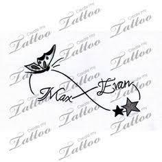 Resultado de imagen de childrens names tattoos for women